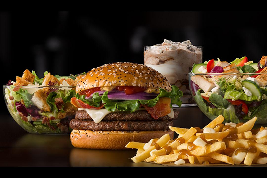 McDs Global menu