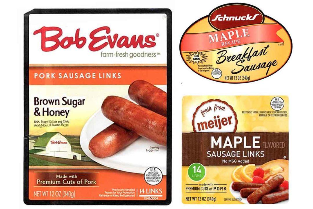 bob evans farm sausage labels