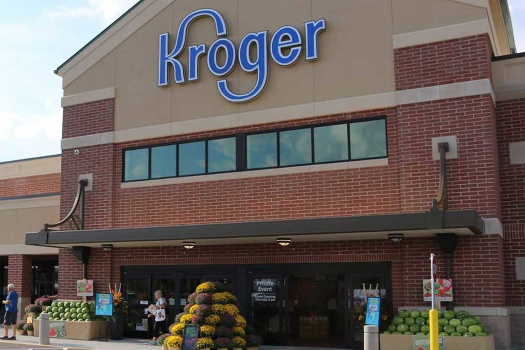 Kroger grocery store exterior