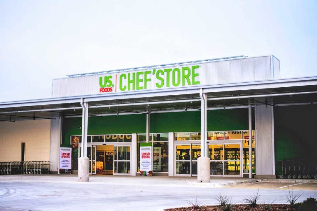US Foods' Chef'Store exterior