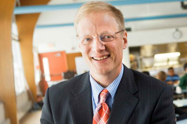 Brian Wansink, Ph.D., professor and director of Cornell University's Food and Brand Lab