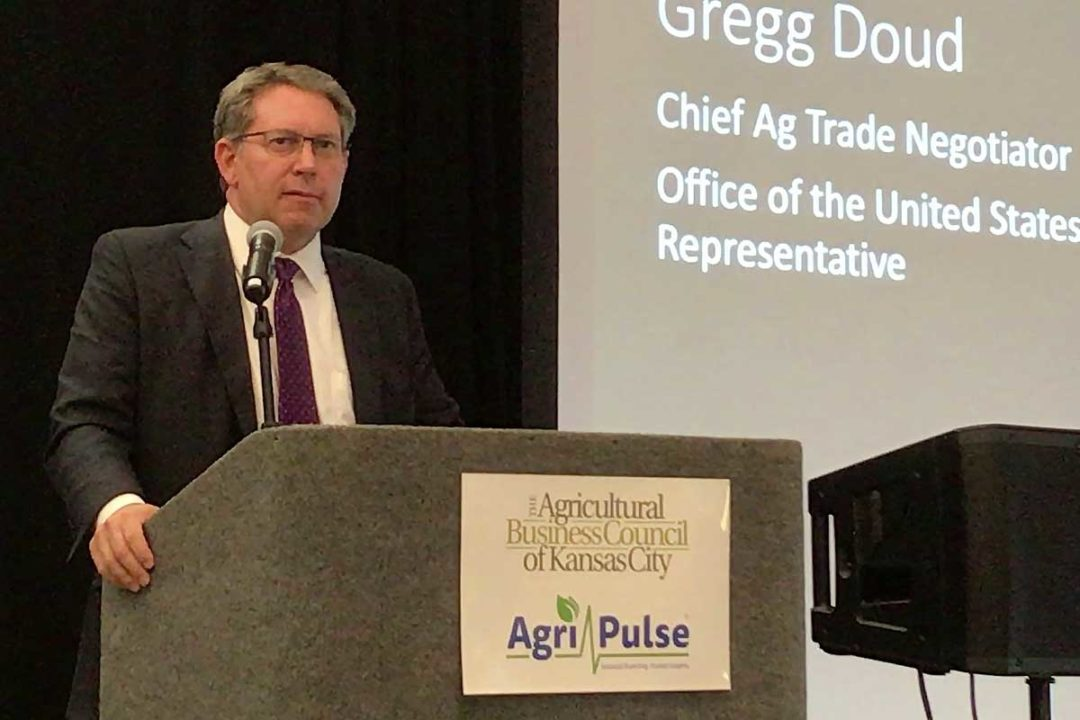 Gregg Doud, Office of the US Trade Representative