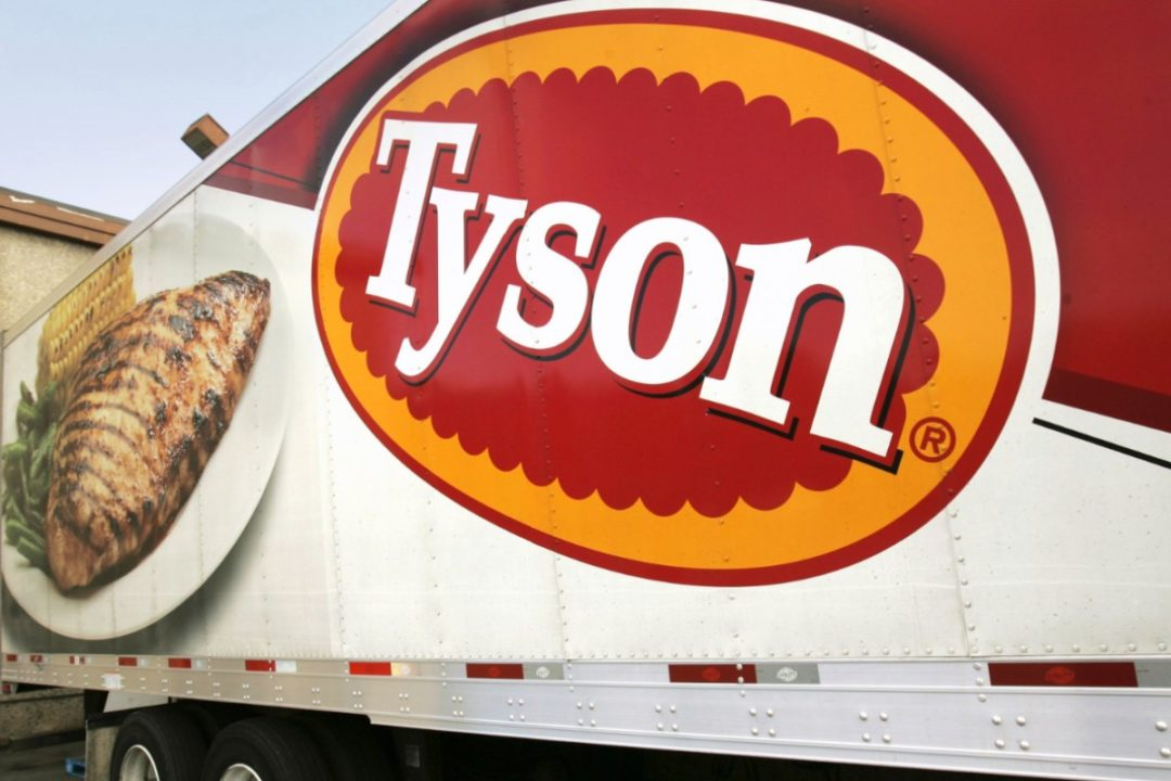 Tyson Foods smaller