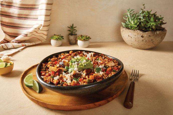 Moe quinoa power bowl