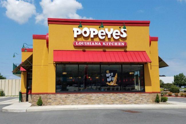 Popeyes smaller