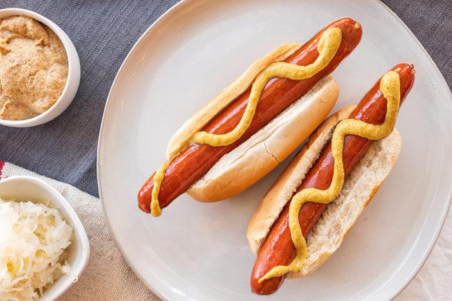 Carnegie hot dog