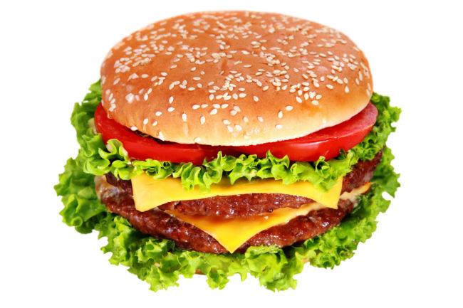 burger small