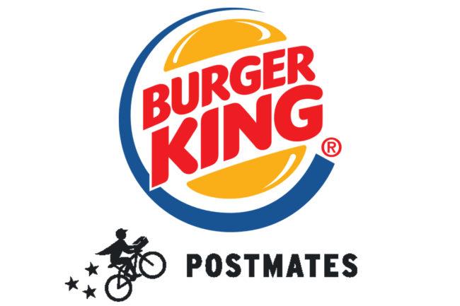 Burger King and Postmates