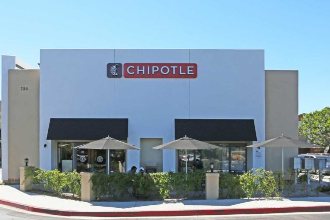 Chipotle restaurant
