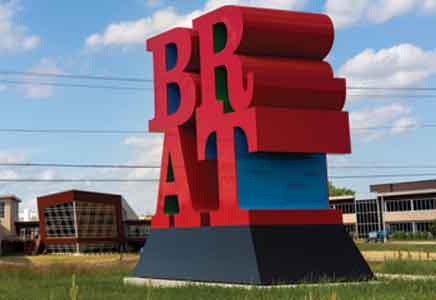 brat sculpture johnsonville