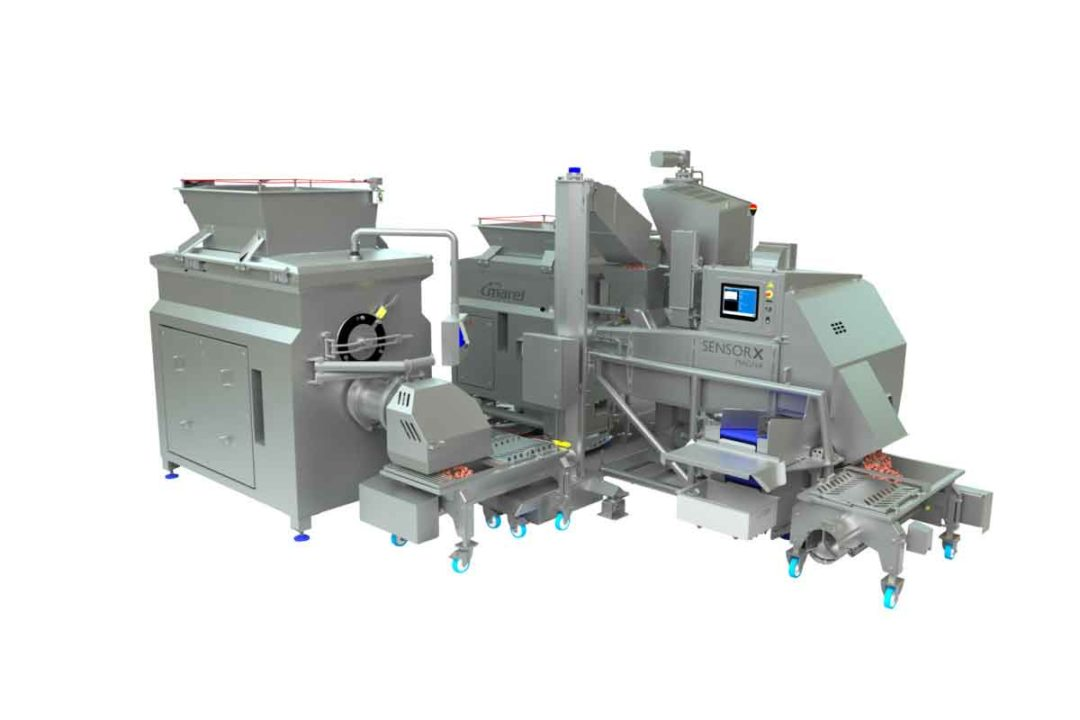 Marel has been developing x-ray technology since 2006, mostly to detect bone contamination in meat products.