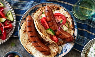 Superior farms lamb sausage