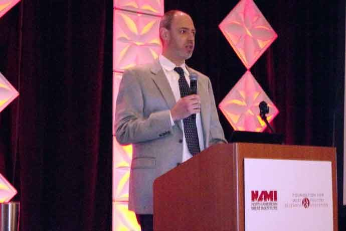 Eric Mittenthal, vice president of sustainability for the North American Meat Institute (NAMI), announced a new initiative called Trust in Animal Protein.