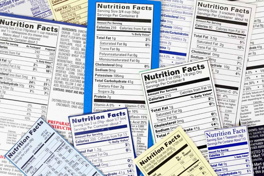 The FDA will work with food manufacturers for a six-month period to meet new labeling requirements.