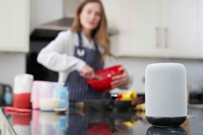 The company has developed recipe skills for Google Home and Amazon Echo