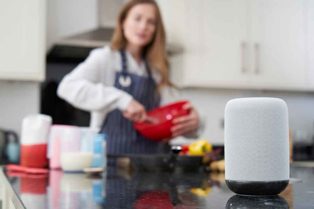 The company has developed recipe skills for Google Home and Amazon Echo