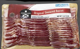 Packaging amcor bacon board
