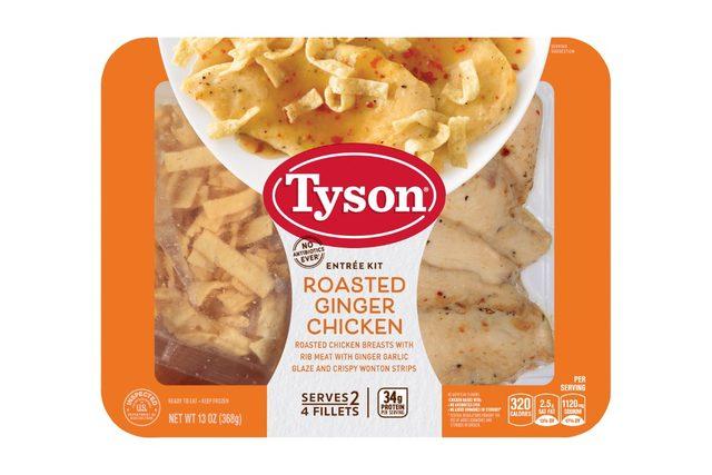 5ingredient tip tyson roasted ginger chicken smallest