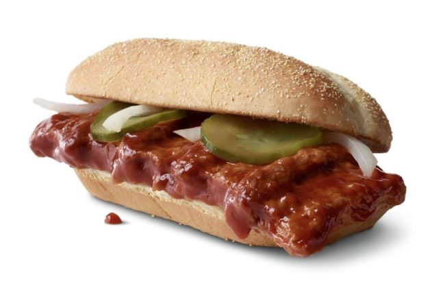 McRib smallerest