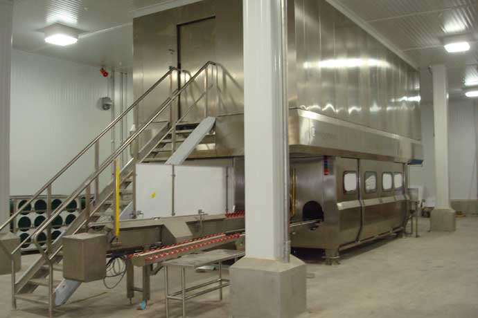 West Liberty Foods uses high-pressure processing during the production of ready-to-eat meals.