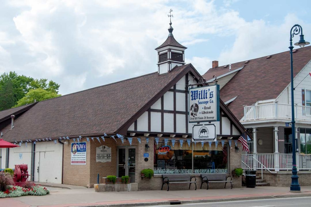 Willi's Sausage Co. shares the 'best wurst' with its customers.