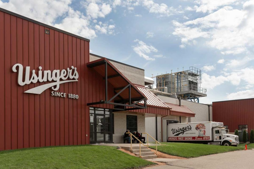"Usinger's ""Florida Street"" processing plant"