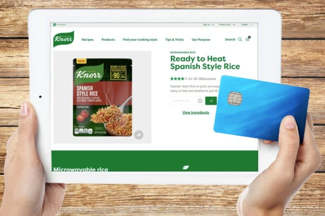 Knorr E commerce