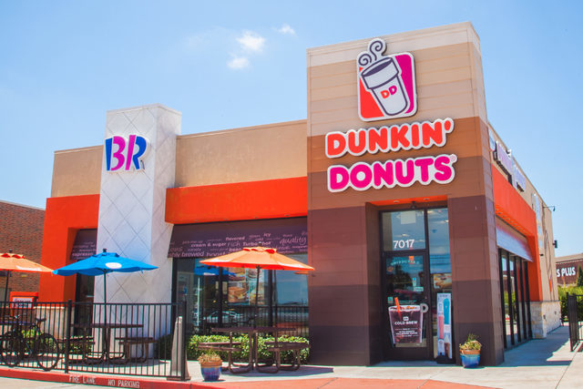 Dunkin store front