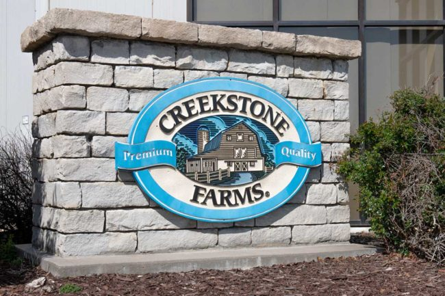 Creekstone Farms Premium Beef LLC was named the Governor's Exporter of the Year for 2020 by Kansas Governor Laura Kelly.
