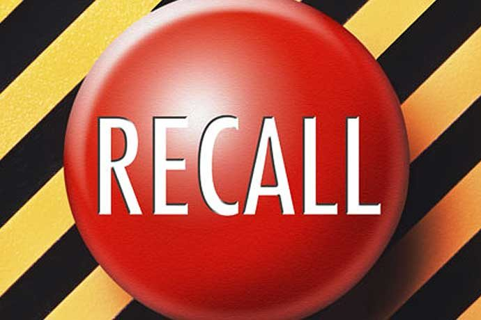 recall button graphic