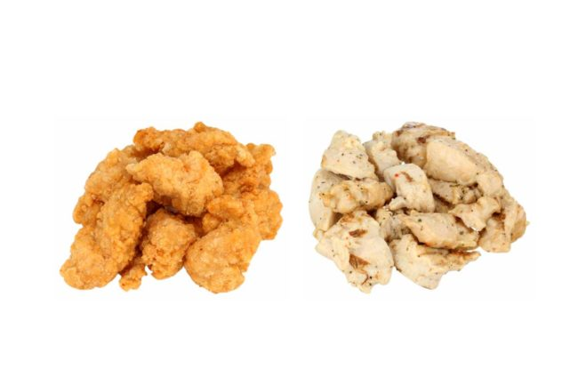 Tyson Foodservice expanded its Red Label brand with addition of fully cooked grilled and breaded chicken items.