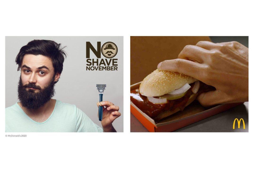 McDonalds No Shave
