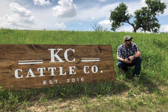 Patrick Montgomery, KC Cattle Co. in Weston, Missouri
