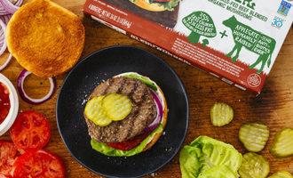 Applegate classic burger beef smaller