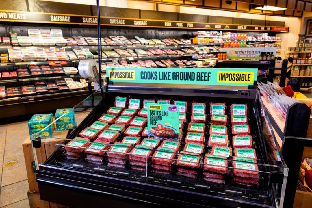 Impossible Foods supermarket