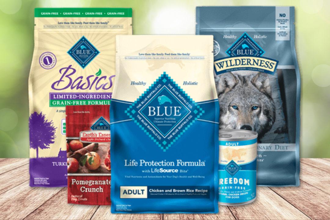 Blue Buffalo pet food