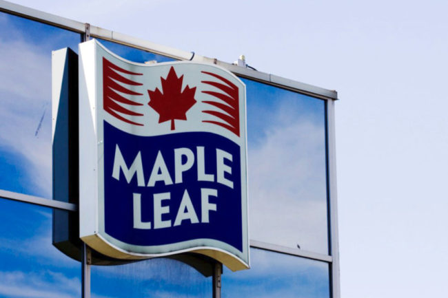 Maple Leaf building smaller