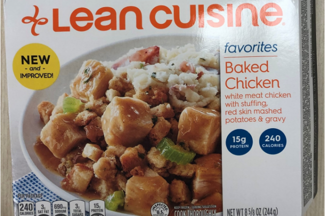 Lean Cuisine smaller