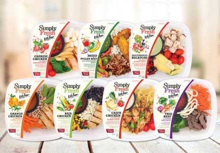 Simply Fresh, a fresh meal brand from FiveStar Gourmet Foods, Ontario, California