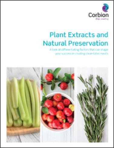 Corbion  whitepaper plantextract sep2020