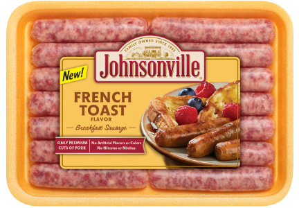 Johnsonville French Toast flavored breakfast sausage