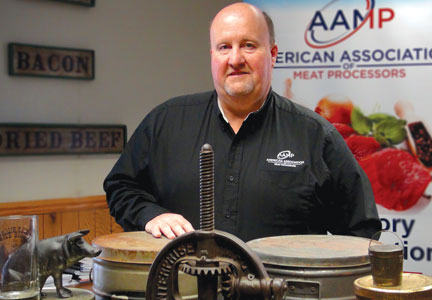 Chris Young leads small meat processors as executive director of AAMP.