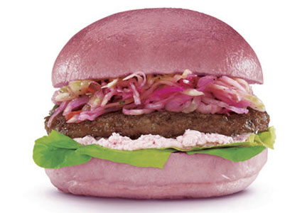 Ace Bakery and Hero Certified Burger in Toronto team up to create a unique burger to promote breast cancer awareness.