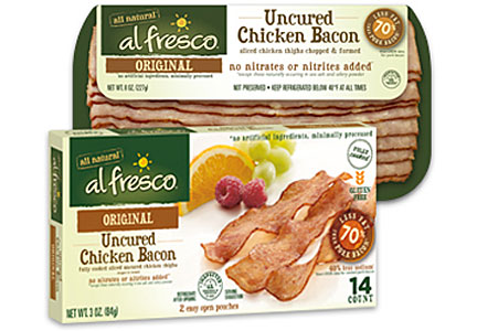 al fresco brand uncured chicken bacon