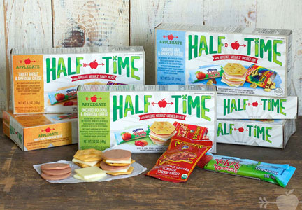 Applegate Farms Half-Time lunch kits
