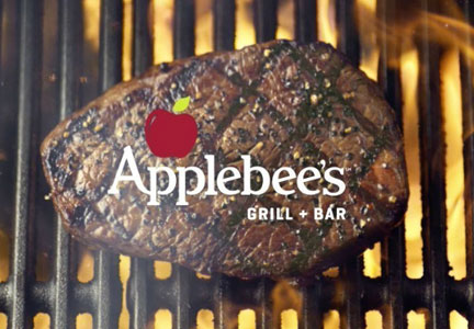 Hand-cut wood-fired USDA Choice steaks are the centerpiece of Applebee's new menu.