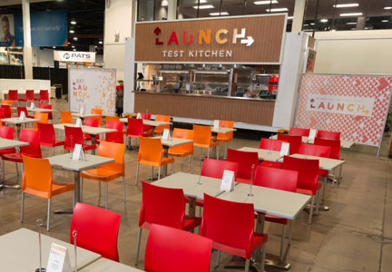 Aramark's Launch Test Kitchen