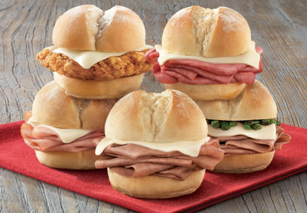 Arby's recently launched its own version of sliders to appeal to busy consumers looking for a quick bite.