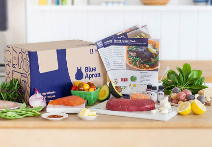 Blue Apron co-founder steps aside amid post-IPO jitters
