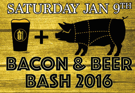 Bacon & Beer Bash 2016 ad